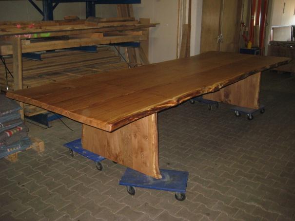 10.De tafel staat klaar voor transport naar de klant.
